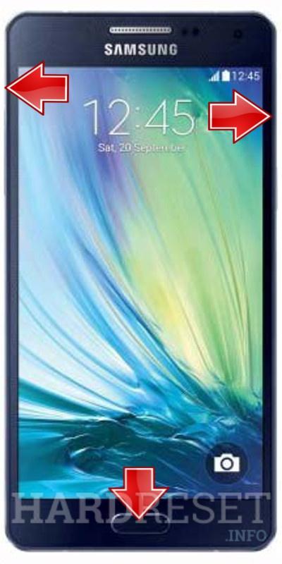 Redefinir SAMSUNG A500F Galaxy A5