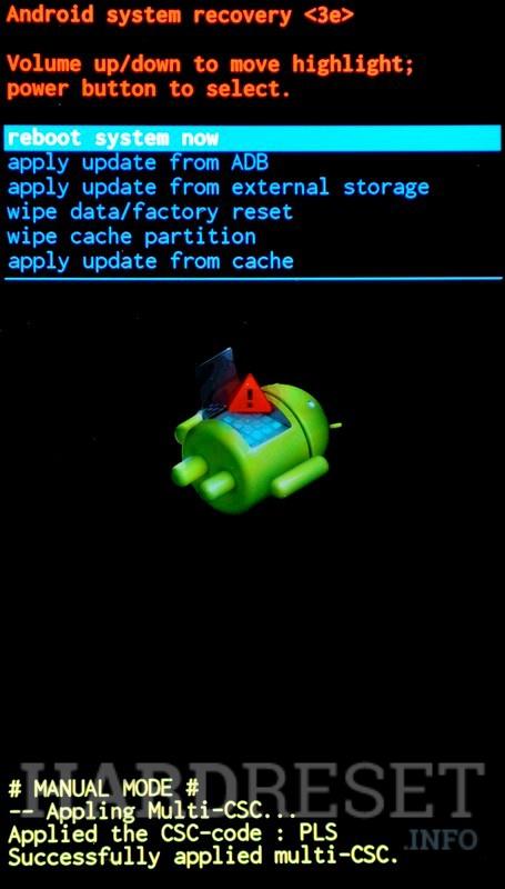 Recovery Mode SAMSUNG P7500 Galaxy Tab 10 1 3G - HardReset info