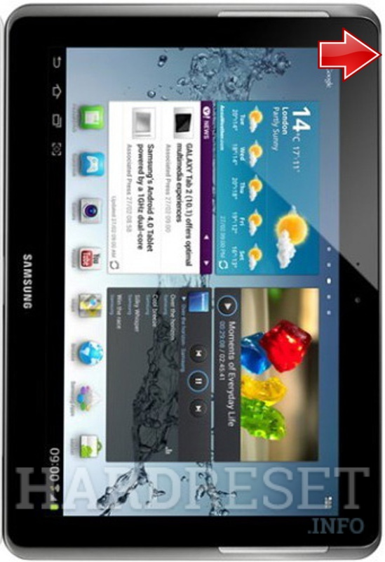 Factory Reset Samsung P5110 Galaxy Tab 2 10 1 How To Hardreset Info