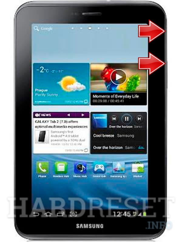 Repor Tab P3100 SAMSUNG Galaxy 2 7.0