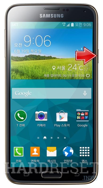 Hard Reset SAMSUNG G906S Galaxy S5 LTE-A - HardReset info