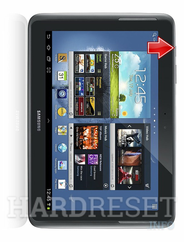 Hard Reset SAMSUNG N8010 Galaxy Note 10.1 WiFi