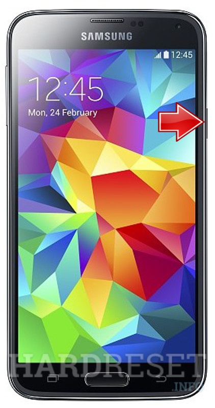 Hard Reset SAMSUNG G901F Galaxy S5 Plus