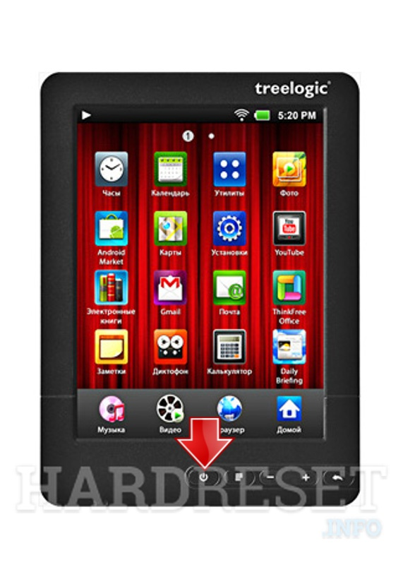 Hard Reset TREELOGIC Brevis 16Gb 801GWA C-Touch