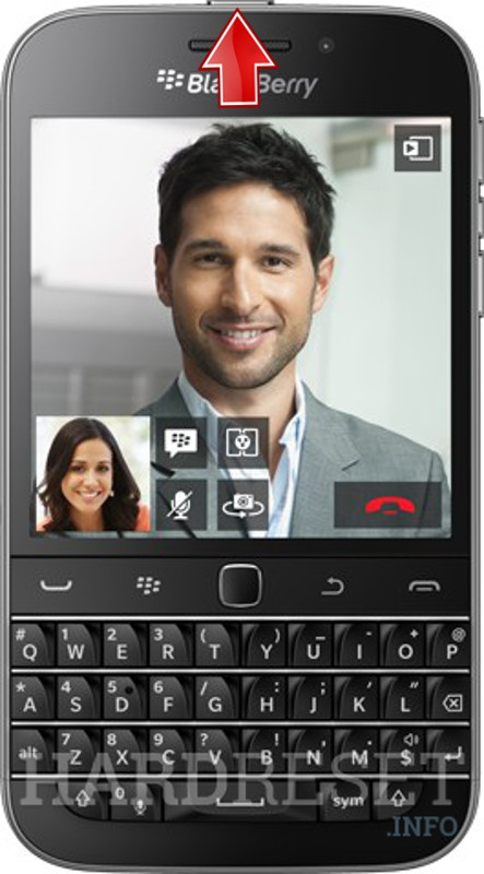 Remove Password BLACKBERRY Classic - HardReset info