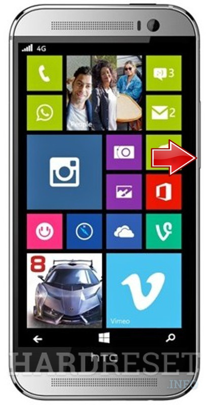 Format HTC One M8 for Windows