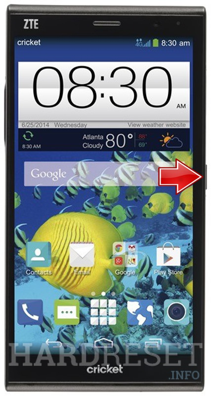 the HTC zte max ftm courts
