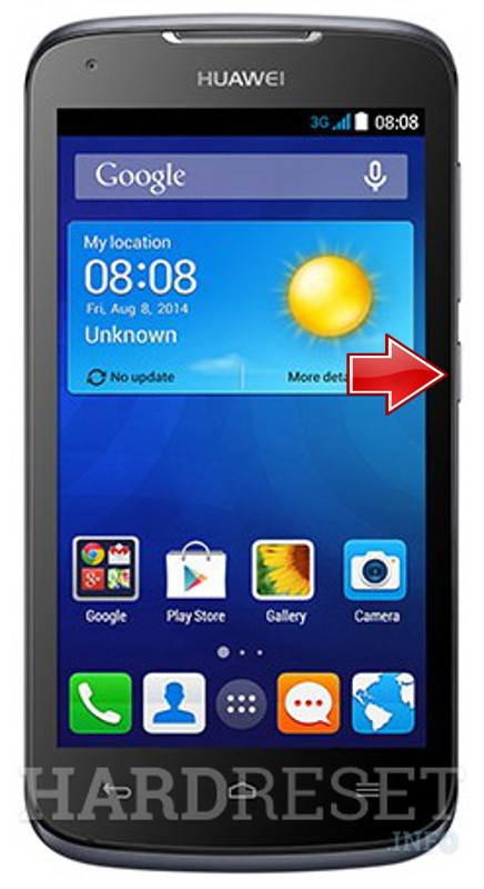 Hard Reset HUAWEI Ascend Y520
