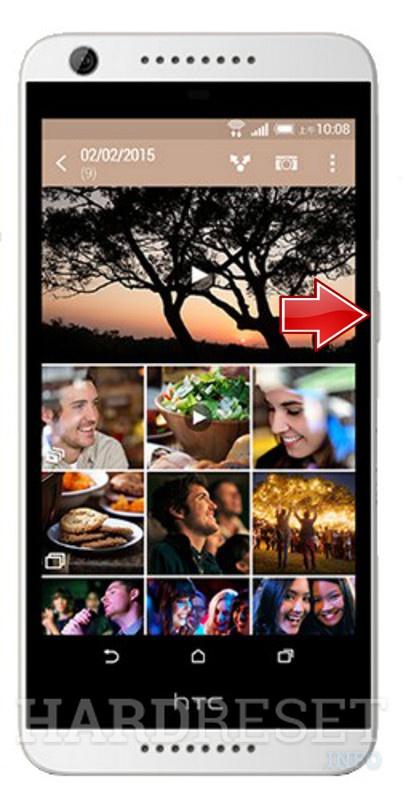 Recovery Mode HTC Desire 626 - HardReset info