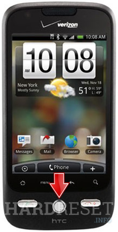 Remove Screen Lock HTC Droid Eris