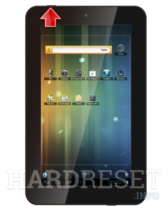 Hard Reset TEXET TM-7026