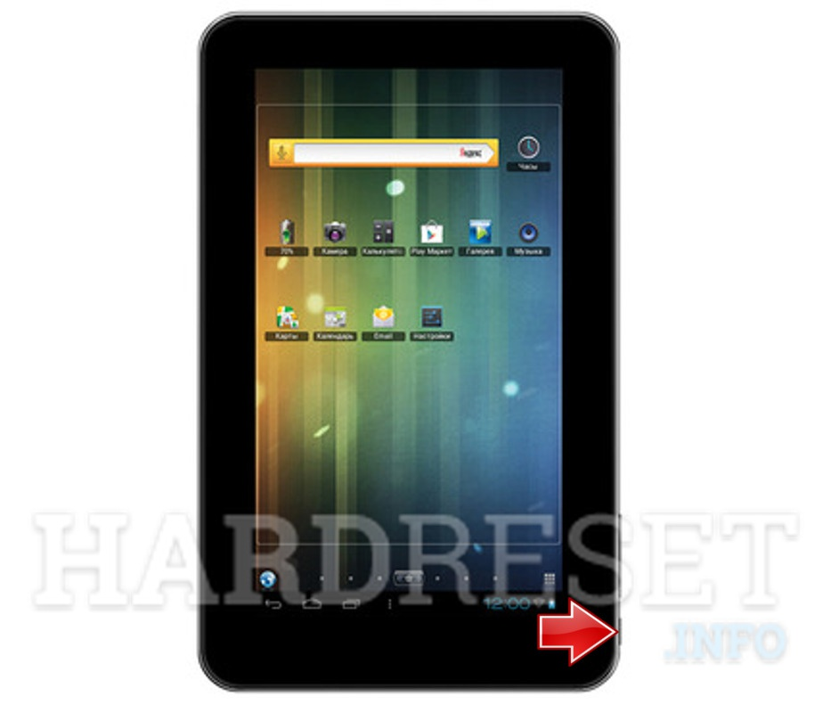 Hard Reset TEXET TM-7016