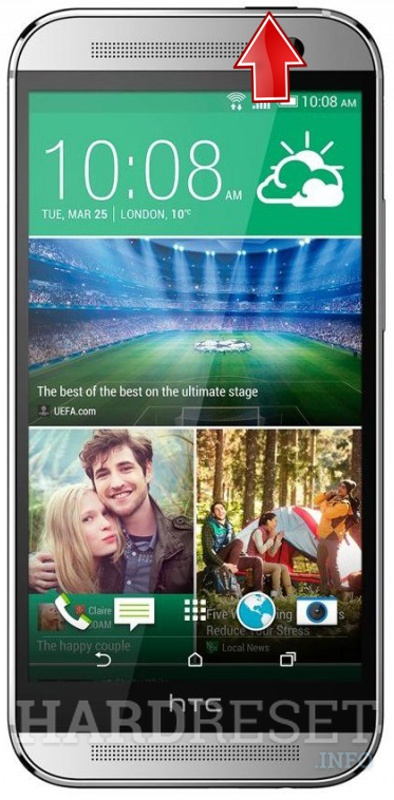 Hard Reset HTC One M8 Dual SIM