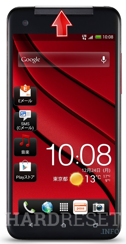 Hard Reset HTC J  Butterfly