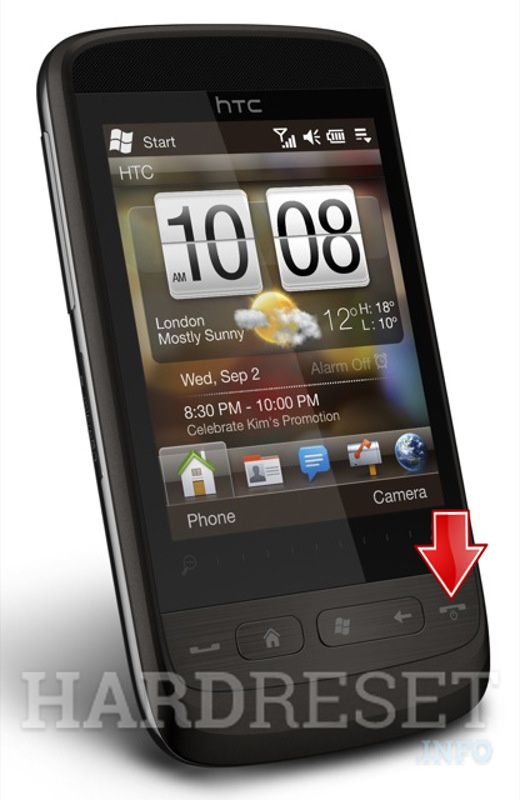 Hard Reset HTC Touch2