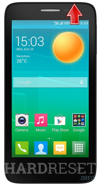 Hard Reset ALCATEL 5038D Pop D5