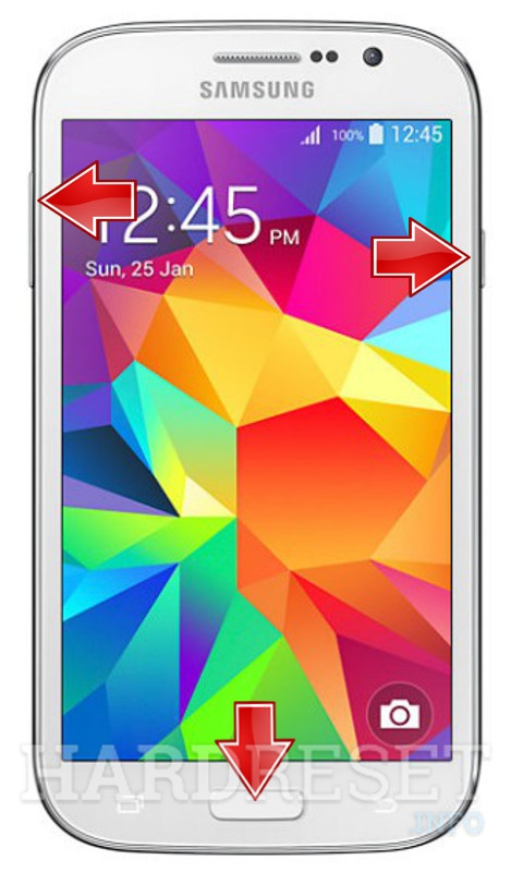 custodia samsung galaxy grand neo plus rosso