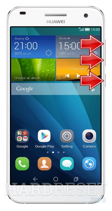 Permanently delete data from HUAWEI Ascend G7