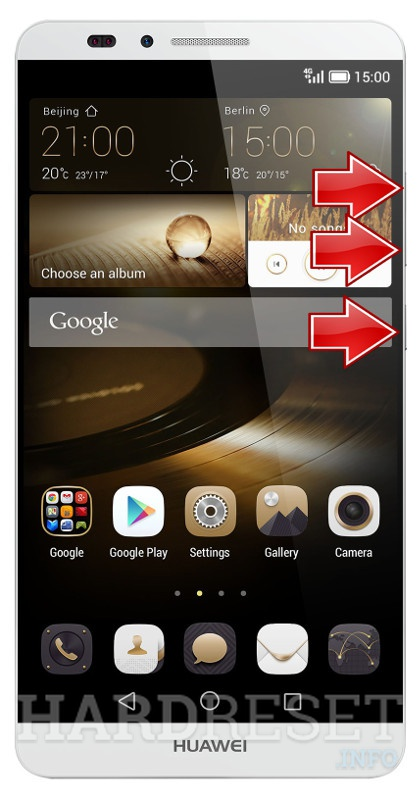HardReset HUAWEI Ascend Mate 7