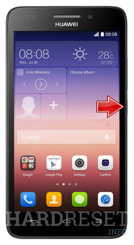 Hard Reset HUAWEI Ascend G620s
