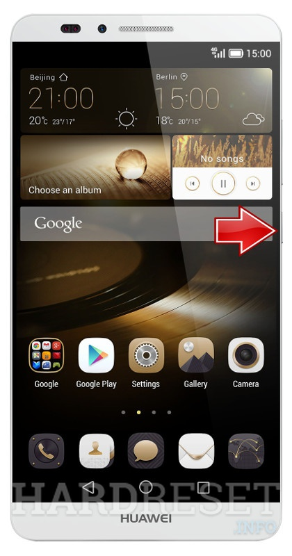 Hard Reset HUAWEI Ascend Mate 7