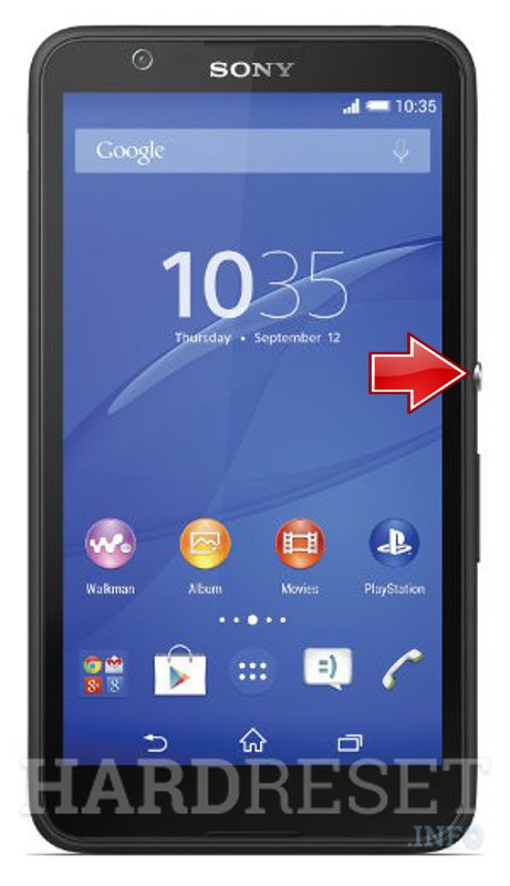 how to hard reset my phone sony xperia e4 e2105 hardreset info rh hardreset info Sony Xperia Waterproof Sony Xperia Frozen