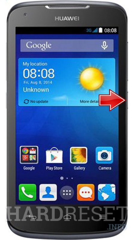 Hard Reset HUAWEI Ascend Y540