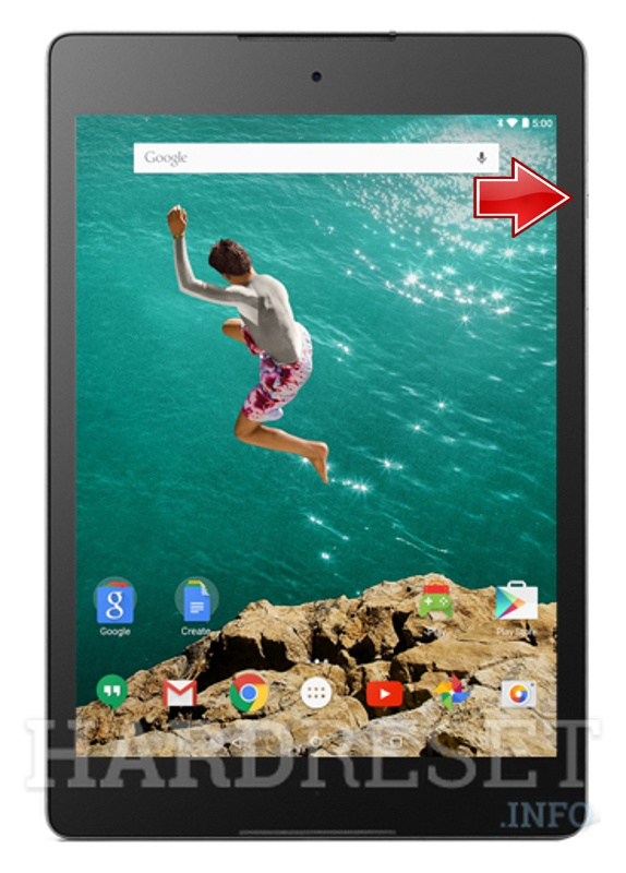 Hard Reset HTC Nexus 9 LTE
