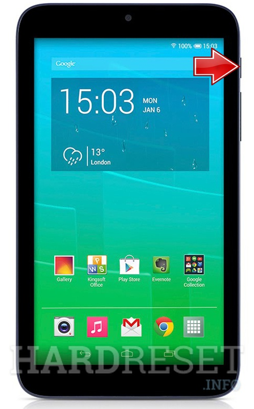 Hard Reset ALCATEL One Touch 7 Pixi