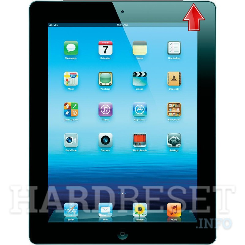 Hard Reset APPLE iPad 3 WiFi