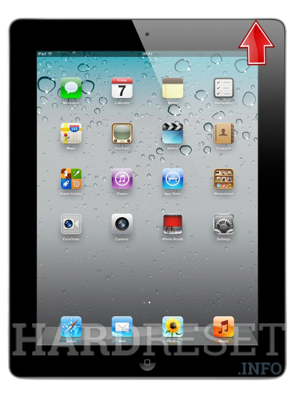 Hard Reset APPLE iPad 2 WiFi