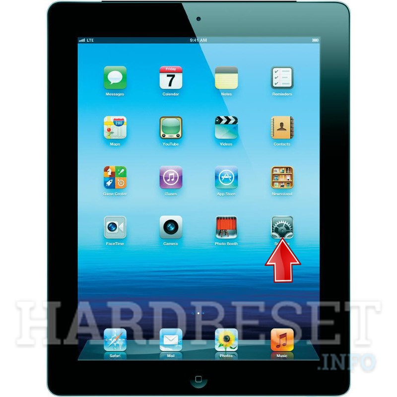 Factory Reset APPLE iPad 3 WiFi
