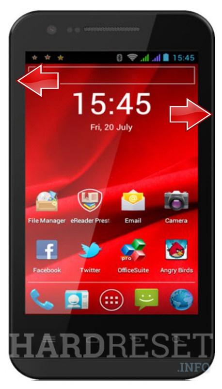 HardReset PRESTIGIO MultiPhone 4040 DUO