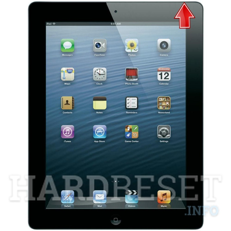 Hard Reset APPLE iPad 4 WiFi + Cellular