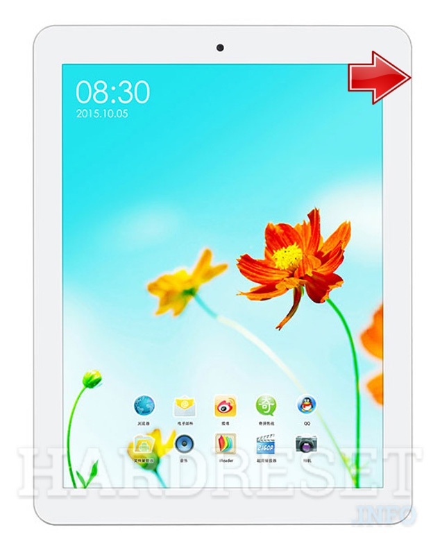 Hard Reset TECLAST P98HD Rui Wing Quad Core