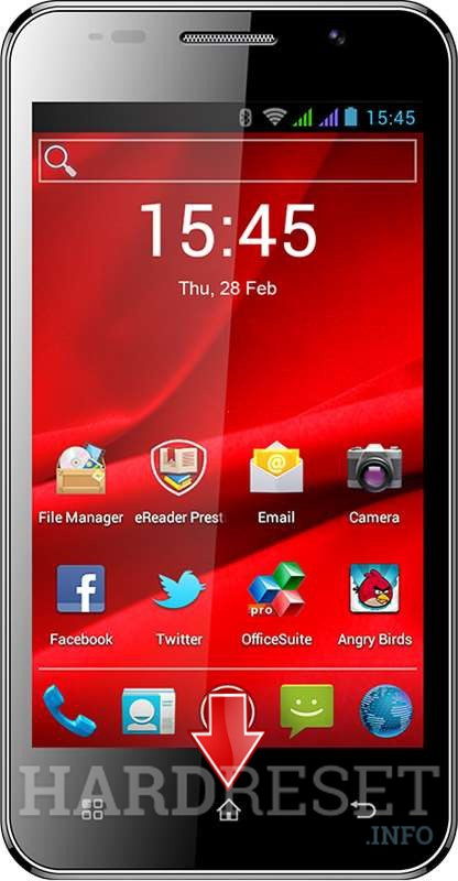 Remove Screen Lock on PRESTIGIO MultiPhone 4322 Duo