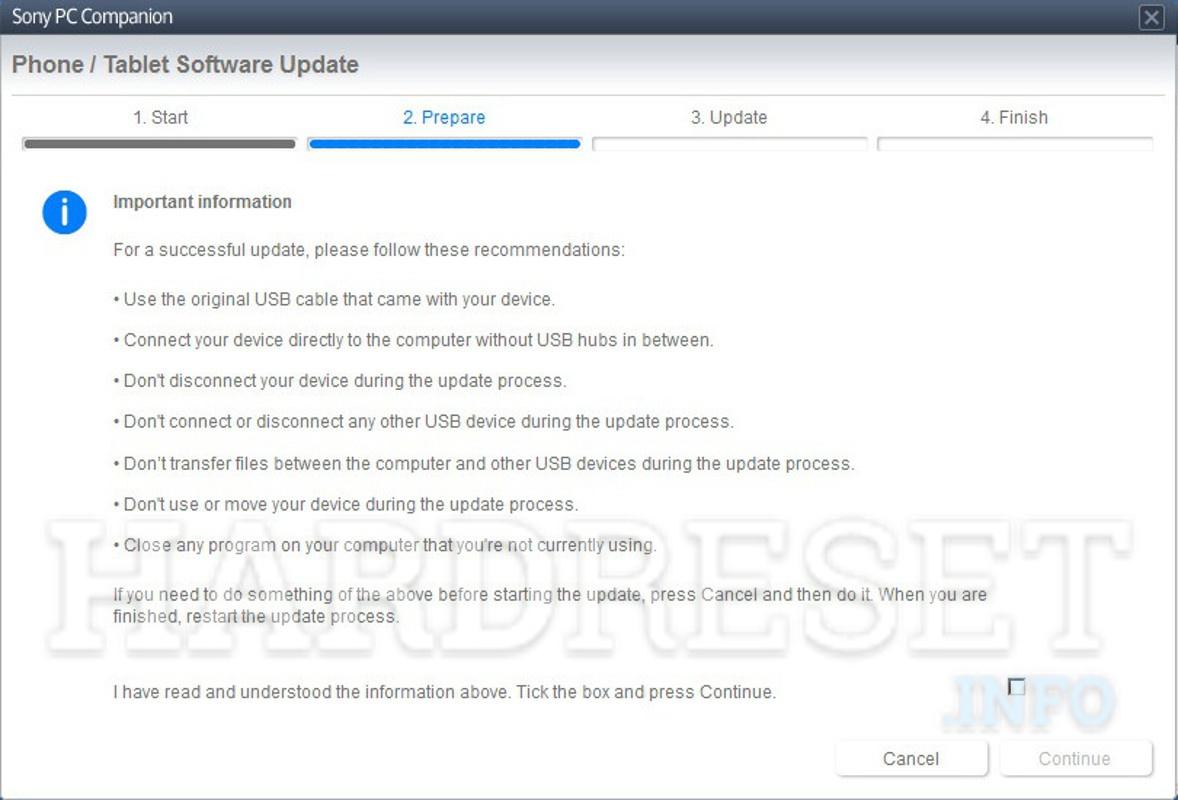 Wipe Data SONY Xperia C3 Dual D2502 - HardReset info