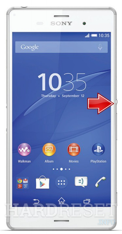 how to reset a sony xperia phone weren't