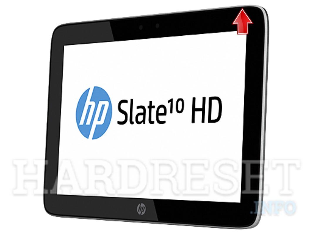 Hard Reset HP Slate 10 HD - HardReset info