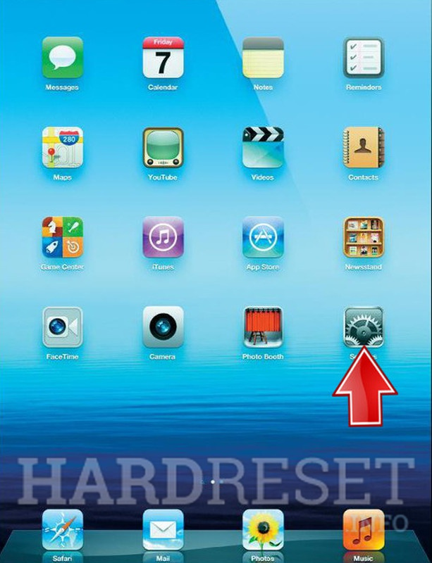 Factory Reset APPLE iPad Mini 2 Cellular