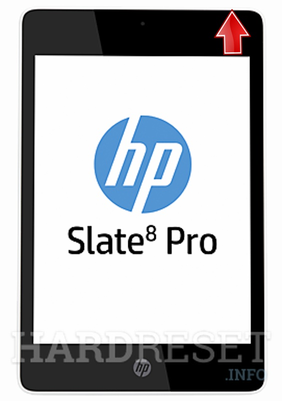 Factory Reset HP Slate 8 Pro
