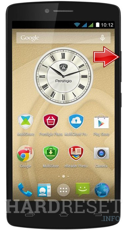 Wipe data PRESTIGIO MultiPhone 5550 Duo