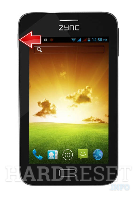 Remove screen password on ZYNC Cloud Z5 Dual Core
