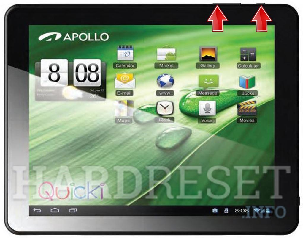 HardReset APOLLO Quicki 1034