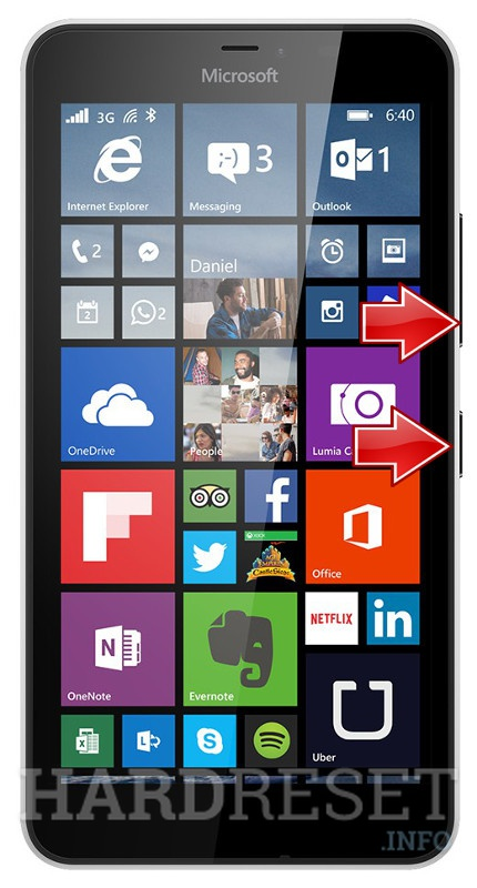 how to hard reset microsoft lumia 640 Filters and