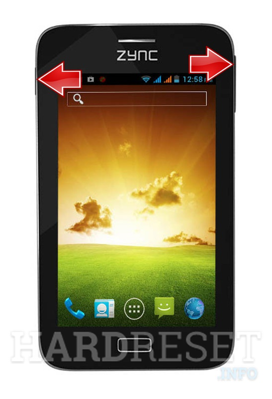 Remove Screen Lock on ZYNC Cloud Z5 Dual Core