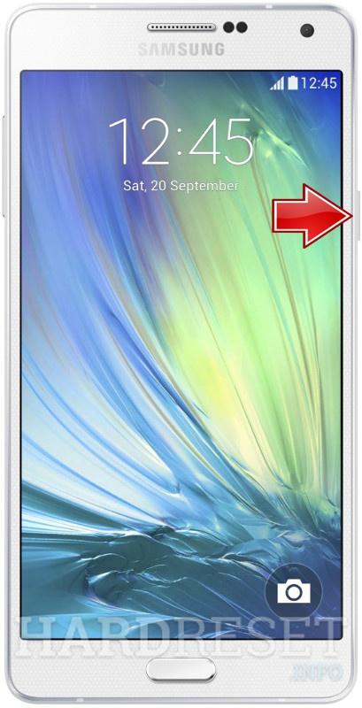 Hard Reset SAMSUNG A700F Galaxy A7