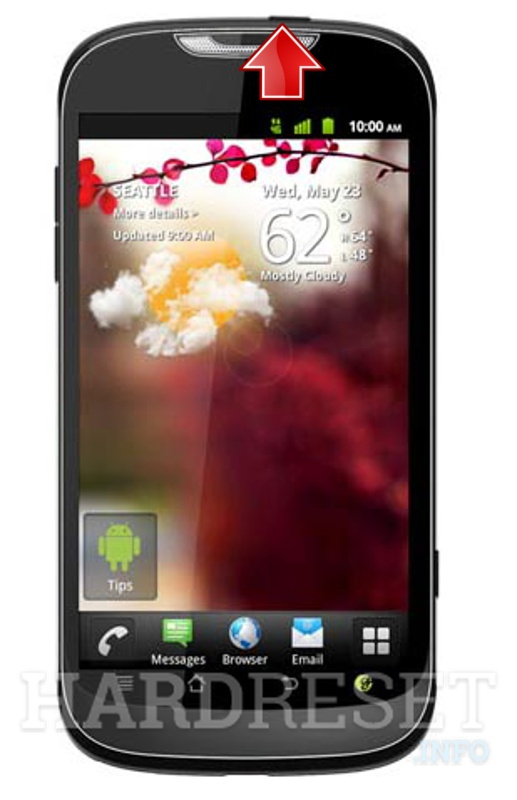 Hard Reset HUAWEI U8680 Unite Phoenix T-mobile my touch