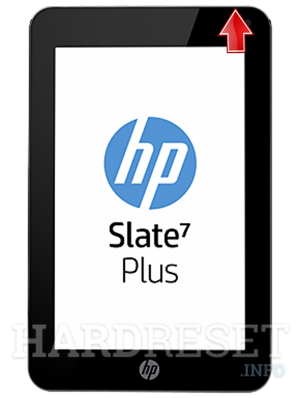 Hard Reset HP Slate 7 Plus
