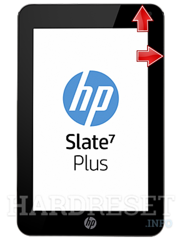 HardReset HP Slate 7 Plus